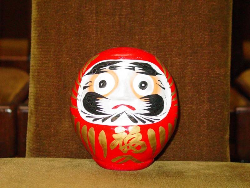 """Японската кукла """"Дарма"""" - част от експозицията в Музей """"Нова история"""" на РИМ - Пловдив"""